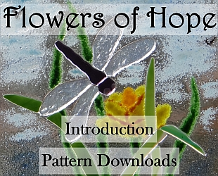 Flowers of Hope Button